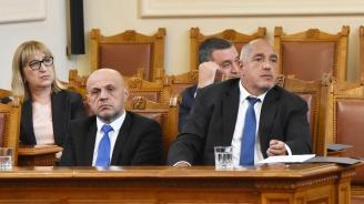 Борисов ще участва на парламентарния контрол утре
