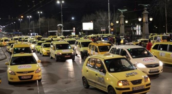Таксиметровите шофьори отново на протест