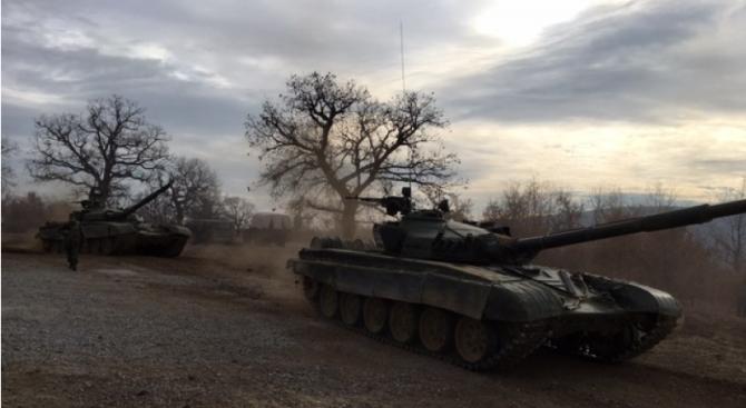 КФОР изпрати военна техника в Косово