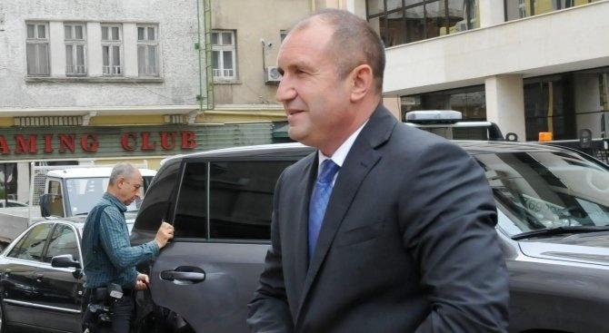 Румен Радев на официално посещение в Йордания