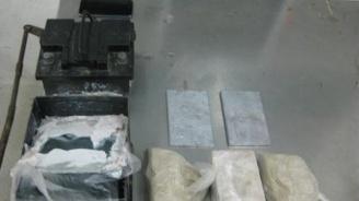 Гранични полицаи задържаха мъж с голямо количество амфетамин и хероин