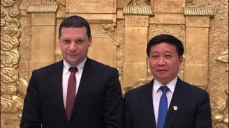 Илиан Тодоров се срещна с вицегубернатора на гр. Фуджоу