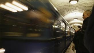 Хиляди души бяха блокирани в московското метро (видео)