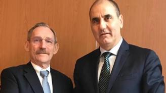 Цветанов проведе работна среща с министъра на вътрешните работи и зам. министър-председател на Унгария Шандор Пинтер