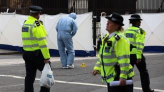 Мъж проникна през охраната на британския парламент (видео)