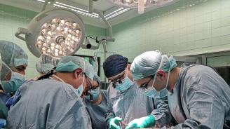 Специалисти от ВМА с поредна трансплантация на черен дроб