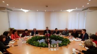 """Теменужка Петкова и френската компания """"Фраматом"""" очертаха перспективи за разширяване на сътрудничеството"""