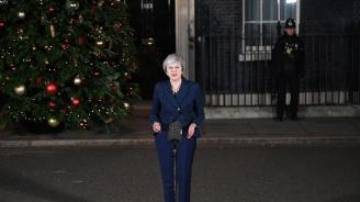 Мей след спечеления вот на доверие: Ще реализирам Брекзит