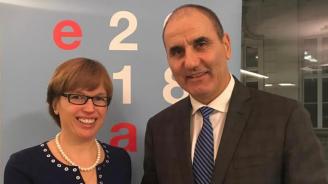 Цветанов проведе работна среща с изпълнителния директор на Европол Катрин де Бол
