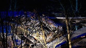 Заснеха мястото на жестоката ЖП катастрофа до Анкара с дрон (видео)