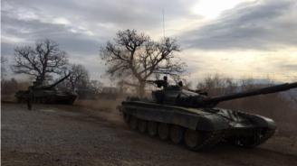 КФОР изпрати военна техника в Косово (видео)