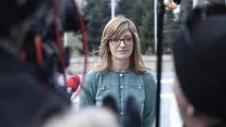 Вицепремиерът Екатерина Захариева приема заместник-държавния секретар на САЩ