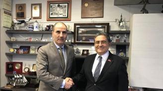 Цветан Цветанов проведе работна среща с посланика на Турция в България