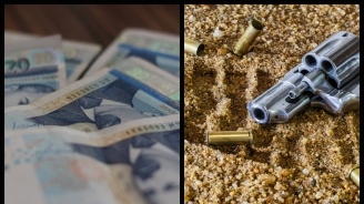 Пачки с пари и незаконен револвер откриха край трупа на началника на КАТ-Казанлък