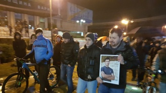 Недоволни от присъдата за смъртта на балетиста във Варна излязоха на протест (снимки)