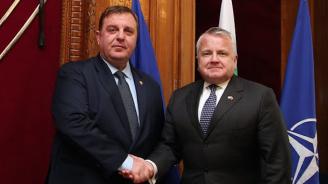 И Каракачанов се срещна с Джон Съливан