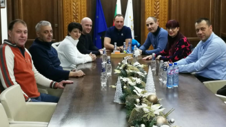 Цветан Цветанов се срещна с кмета на Банско Георги Икономов