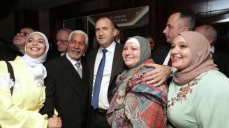 Президентът се срещна с българската общност в Аман и участва в бизнес форум (снимки)