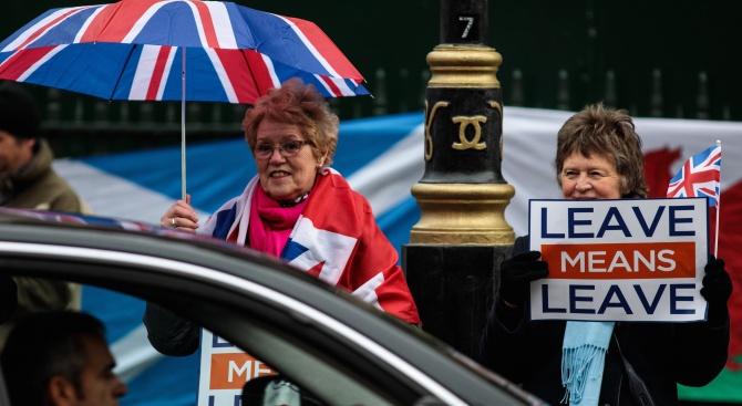 Напрежението около излизането на Британия от Европейския съюз (Брекзит) стана