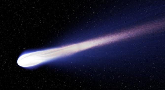 Най-ярката комета за тази година ще премине най-близо до Земята