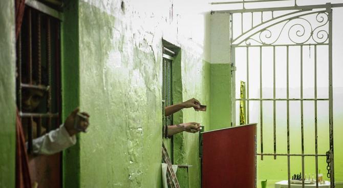 """Около 600 души, намиращи се в най-големия скопски затвор """"Идризово"""","""