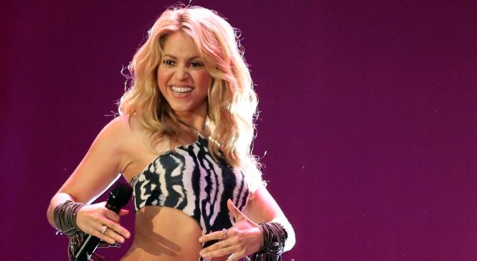 Колумбийската певица Шакира заплати на данъчната служба на Испания 14,5