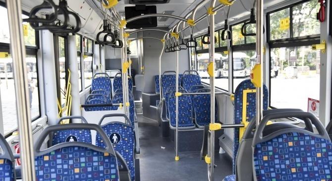 Въвежда се организация на движението за маршрута на автобусни линии