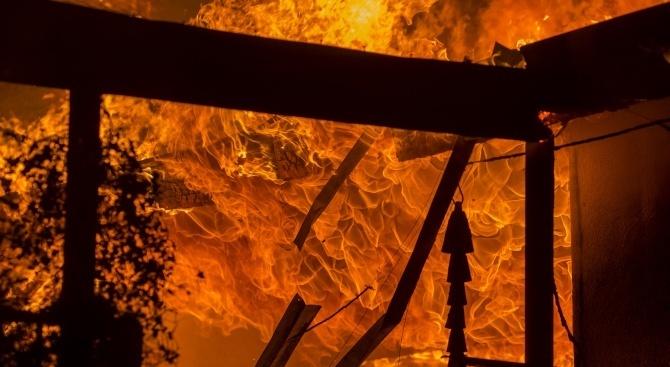 Баба загина при пожар в дома си в Сапарева баня