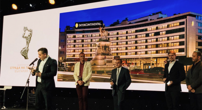 """Големият победител в конкурса """"Сграда на годината"""" 2018, категория """"Хотели"""