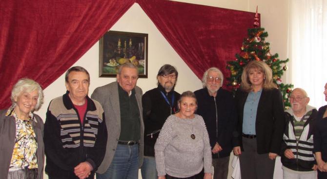 Дома на ветераните на културата и изкуствата в София посети