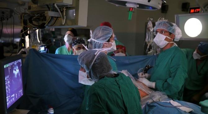 По повод на възникнала донорска ситуация, на 14 декември сутринта