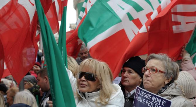 Няколко хиляди демонстранти преминаха днес в шествие по улиците на