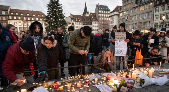 Възпоменателна проява за жертвите на атентата на коледния базар в