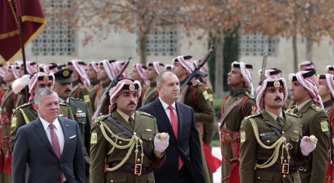 Йордания трябва да бъде подкрепяна от България, от страните от