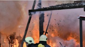 Пожар горя в Дом за възрастни хора с умствена изостаналост в село Куделин