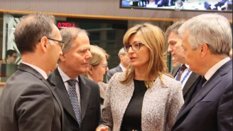"""Захариева взе участие в заседанието на Съвет """"Външни работи"""" в Брюксел"""