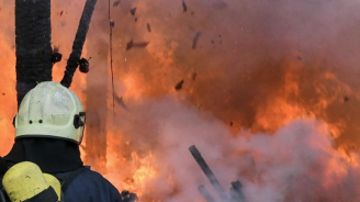 88-годишна жена загина при пожар в дома си