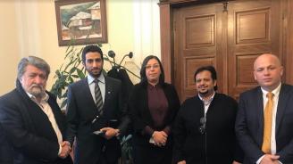 Вежди Рашидов се срещна в парламента с делегация от Саудитска Арабия
