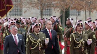 Йордания е остров на стабилност, каза Радев в Аман (галерия)
