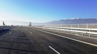 """Днес откриват нови 24 километра от магистрала """"Струма"""""""