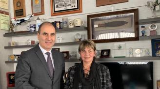 Цветанов се срещна с посланика на Куба в България