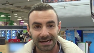Клиент се оплака, че е бит от охраната в столичен хипермаркет