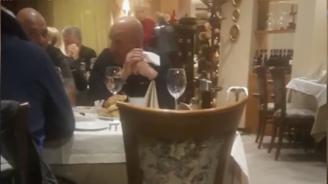 Ценко Чоков в ресторантв София вместо под домашен арест