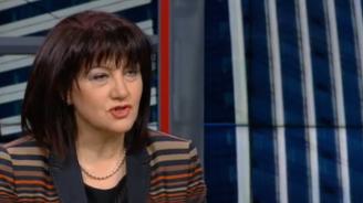 Караянчева: Липсва диалог между президента и НС, това не ми харесва