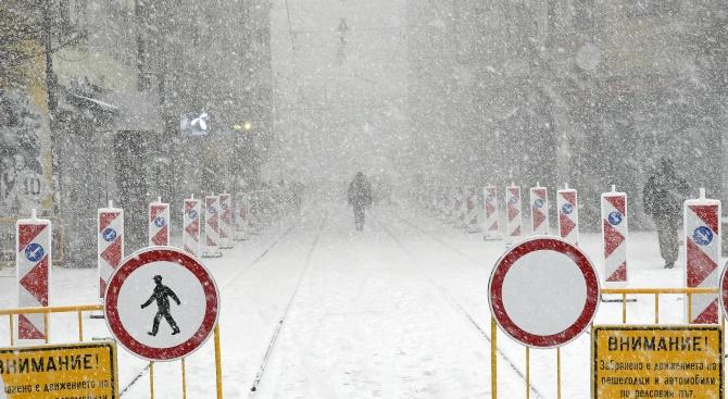 В МВР се събира щаб във връзка с усложнената зимна
