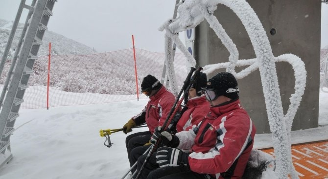 В зимния курорт Банско пристигнаха командированите гръцки и румънски полицаи,