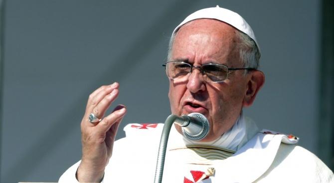 Папа Франциск направи промени в комуникационната дейност на Ватикана, като
