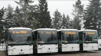 Новите автобуси до Витоша тръгват още утре (снимки)