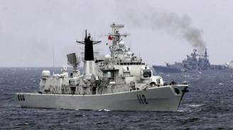 Руски боен кораб е поел към Азовско море