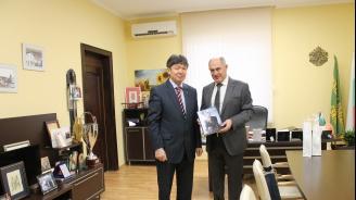 Посланикът на Казахстан у нас гостува в Свиленград